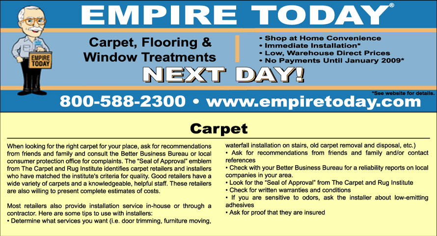 Empire Today Website Image