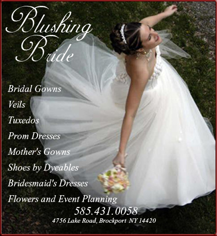 BLUSHING BRIDE Website Image