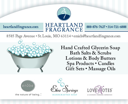 Heartland Fragrance LLC Website Image