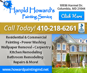 Harold Howard's Painting Service Website Image