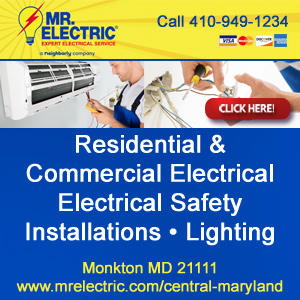 Mr. Electric of Central Maryland Website Image