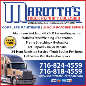Marotta's Truck Repair & Collison Website Image