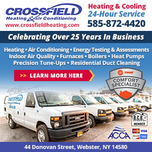 Crossfield Heating & Air Conditioning Website Image