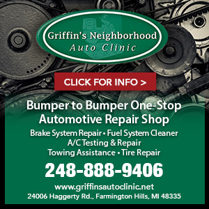 Griffin's Neighborhood Auto Clinic, LLC Website Image