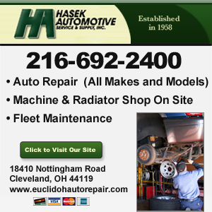 Hasek Automotive Service & Supply Website Image