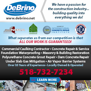 Debrino Caulking Associates, Inc. Website Image