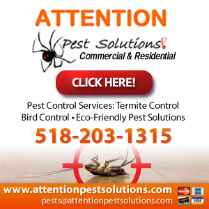 Attention Pest Solutions LLC Website Image