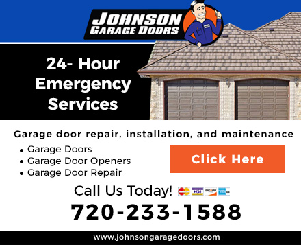 Johnson Garage Door Website Image