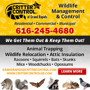 Critter Control of Grand Rapids Website Image