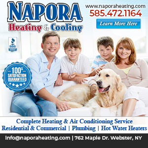 Napora Heating and Cooling Website Image