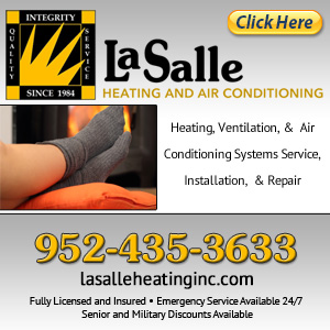 LaSalle Heating & Air Conditioning Incorporated Website Image