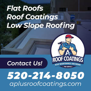 A Plus Roof Coating Website Image